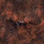 NGC6914 im Schwan mit Umgebung
