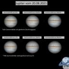 Jupiter - Vergleich