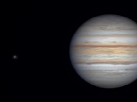 Jupiter mit Skymax 180  am 05.09.2021 gegen 20.15Uhr vom Balkon