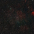 M27(Hantelnebel), NGC6823, NGC6830(Pudelhaufen)