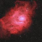 Lagunennebel M 8 im Sternbild Schütze