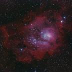 M8 mit Baader Skyglow filter 281x20 sec