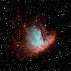 NGC281 Pacman-Nebel Schmalband-Kombi RGB/Hα/OIII (crop)