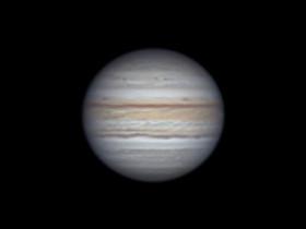 Jupiter mit C8 am 03.09.2021 gegen 22.24Uhr vom Balkon