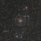 NGC 7789 (und Stock 19 sowie Abell 82)