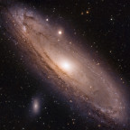 M31 mit 15 Sekunden subs