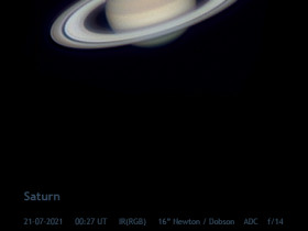 Saturn im IR