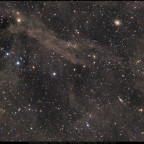 Dust & Galaxies in Dragon