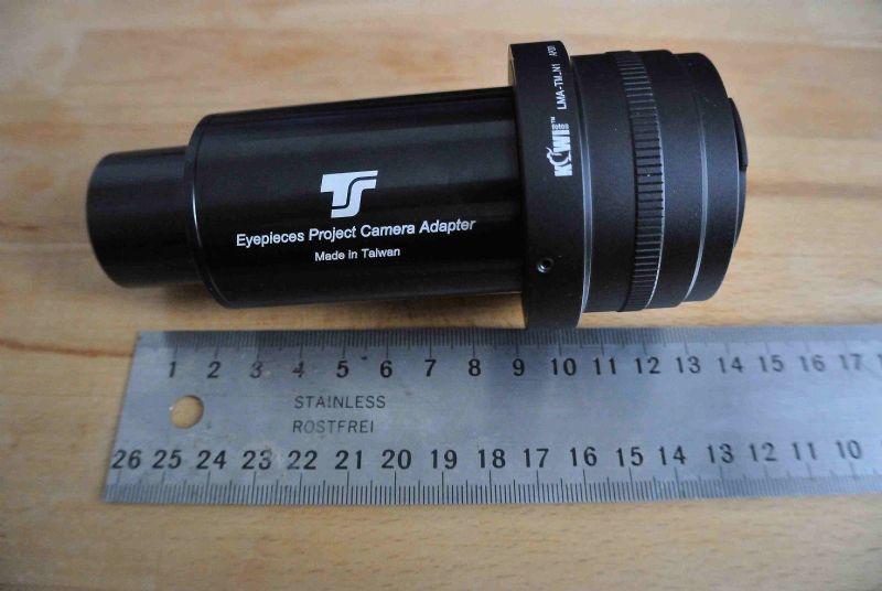 Teleskop express zwo adapter für nikon objektive an asi