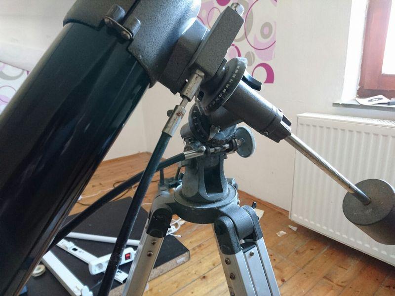 Astrotreff astronomie treffpunkt bresser 80 900 auf wackelmontierung