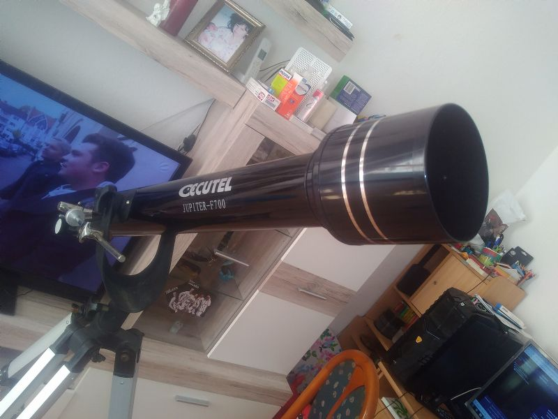 Bresser teleskop spektiv champ f d mm silberfarben mit