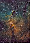 IC 1396 Hubble Palette - 07.11.2018 von Urlaubsknipser