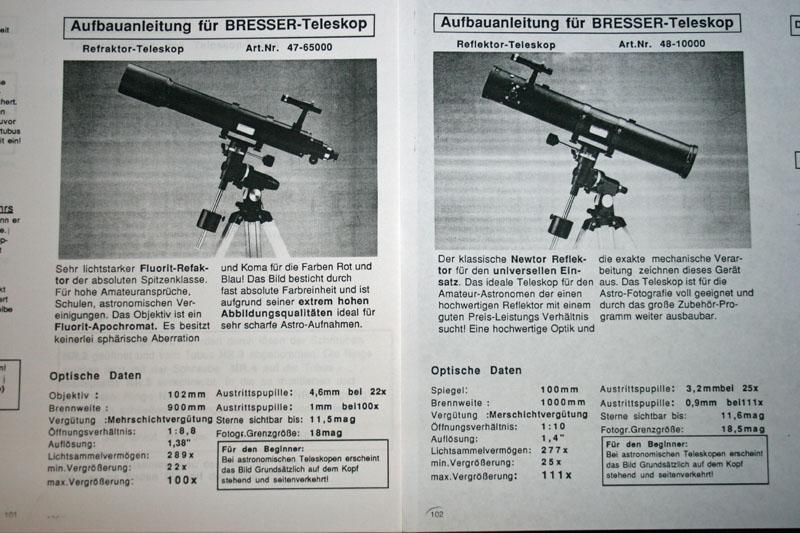 Bresser teleskop anleitung: wie bekomme ich meine kamera an mein
