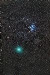 M45 + Komet 46P - 15.12.2018 von skanker